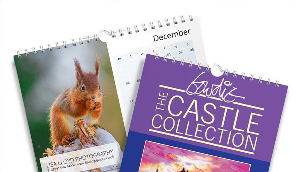wire bound calendars