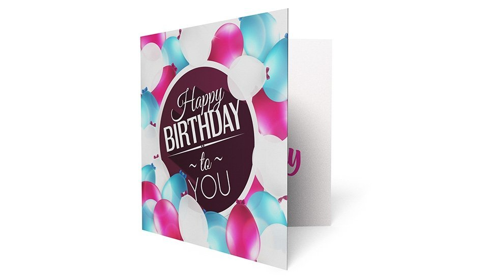 Our Premium Quality Birthday Cards Bulk Printed With Your Unique Design Are A Great Way To Connect Customers And Make Them Feel Extra Special
