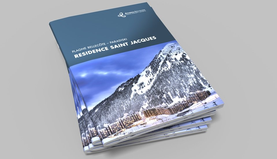 saddle-stitched brochure printing