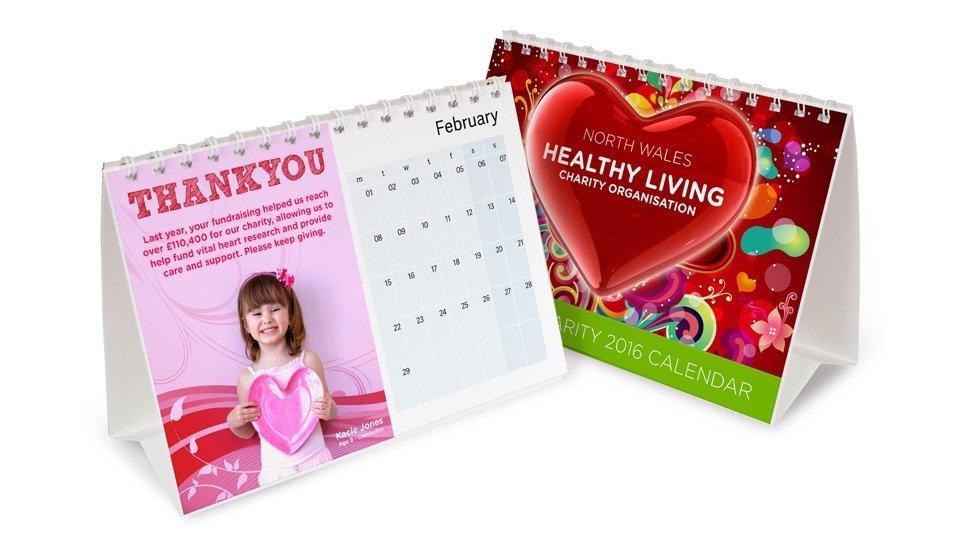 printed desk calendars