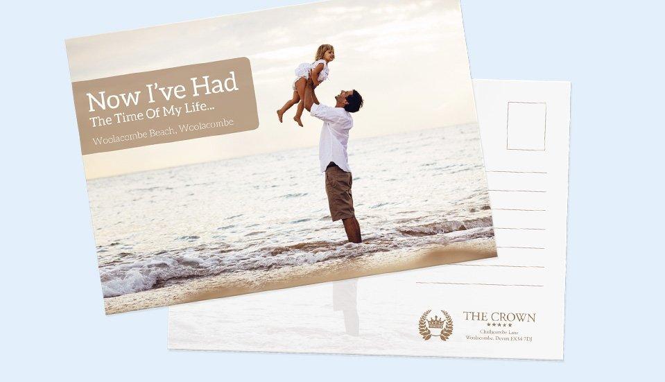 Business Postcard Printing - StressFreePrint